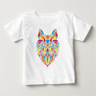 mozaic wolf baby T-Shirt