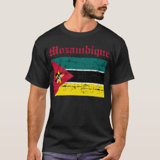 Mozambican flag shirt