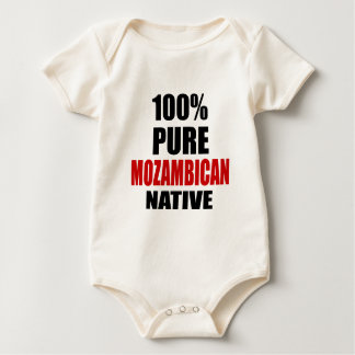 MOZAMBICAN NATIVE BABY BODYSUIT