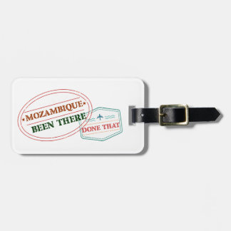 Mozambique Been There Done That Luggage Tag