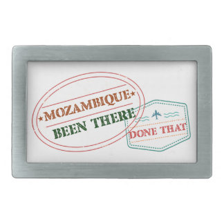 Mozambique Been There Done That Rectangular Belt Buckle