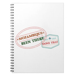 Mozambique Been There Done That Spiral Notebook