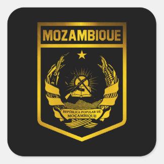 Mozambique Emblem Square Sticker