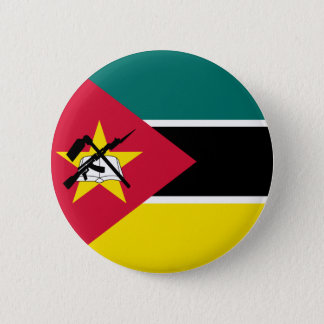 Mozambique Flag 2 Inch Round Button