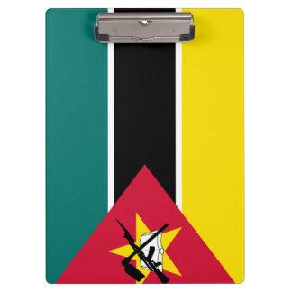 Mozambique Flag Clipboard