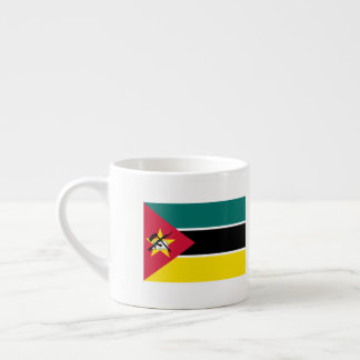 Mozambique Flag Espresso Cup