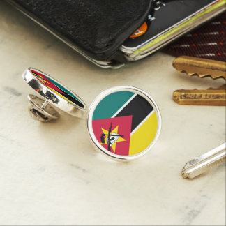 Mozambique Flag Lapel Pin