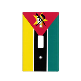 Mozambique Flag Light Switch Cover