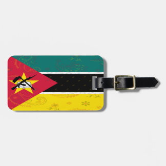 Mozambique Flag Luggage Tag