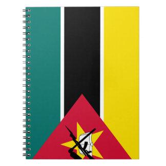 Mozambique Flag Notebook