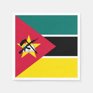 Mozambique Flag Paper Napkin