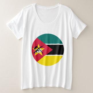Mozambique Flag Plus Size T-Shirt