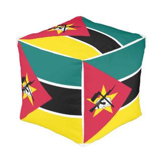 Mozambique Flag Pouf