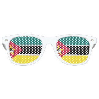 Mozambique Flag Retro Sunglasses