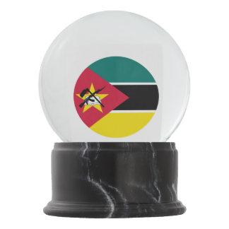 Mozambique Flag Snow Globe