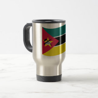 Mozambique Flag Travel Mug