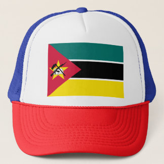 Mozambique Flag Trucker Hat