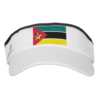 Mozambique Flag Visor