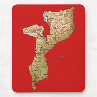 Mozambique Map Mousepad