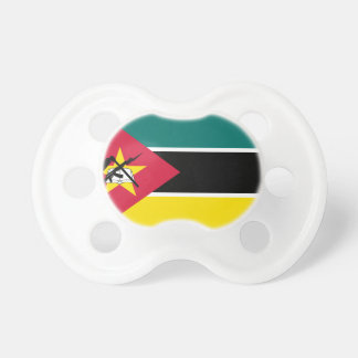 Mozambique National World Flag Baby Pacifier