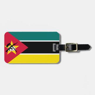 Mozambique National World Flag Luggage Tag