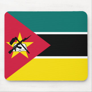 Mozambique National World Flag Mouse Pad