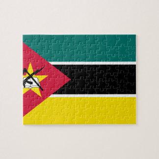 Mozambique National World Flag Puzzle
