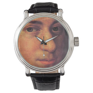 Mozart Face Leather Watch