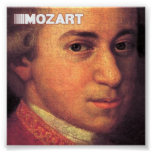 Mozart Fine Art On Canvas Posters