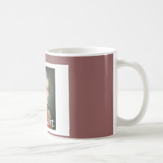 Mozart gifts for music lovers classic white coffee mug