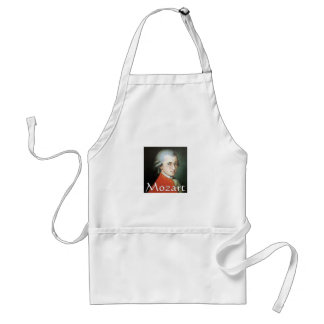 Mozart gifts for music lovers standard apron