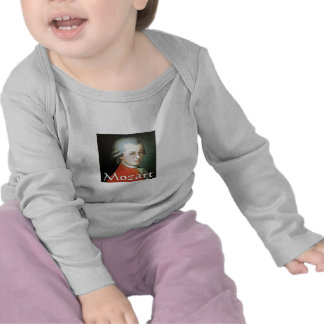 Mozart gifts for music lovers t-shirt