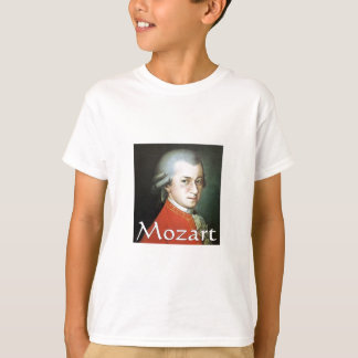 Mozart gifts for music lovers tee shirt