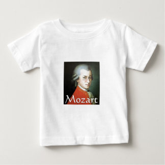 Mozart gifts for music lovers tee shirts
