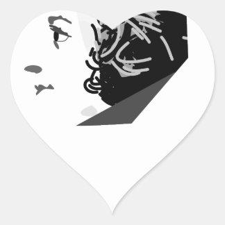mozart heart sticker