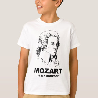 Mozart Is My Homeboy T-Shirt