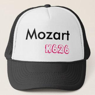Mozart, k626 trucker hat