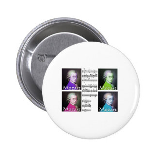 Mozart Lovers Gifts 2 Inch Round Button