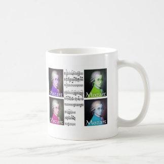 Mozart Lovers Gifts Classic White Coffee Mug