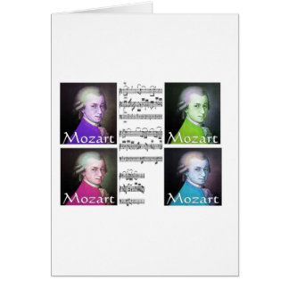Mozart Lovers Gifts Greeting Cards