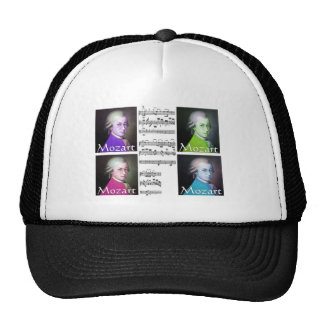 Mozart Lovers Gifts Hat