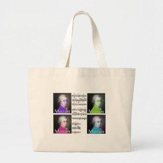 Mozart Lovers Gifts Jumbo Tote Bag