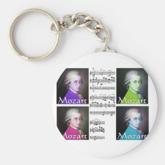 Mozart Lovers Gifts Key Chain