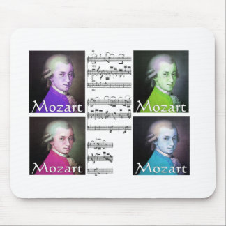 Mozart Lovers Gifts Mouse Mat
