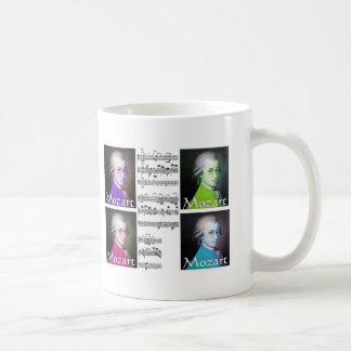 Mozart Lovers Gifts Mugs
