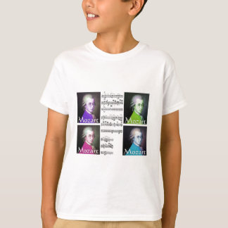Mozart Lovers Gifts Tee Shirts