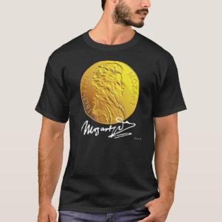 MOZART MEDALLION ON BLACK T-Shirt