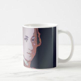 Mozart Mug by Leslie Harlow