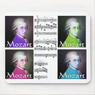 mozart pop art mouspad mouse pad