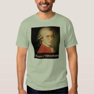 Mozart was Homeschooled T Shirts